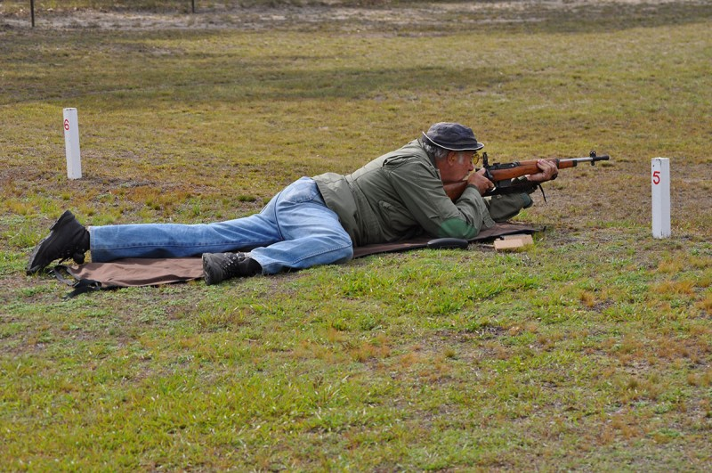 Service Rifle shooting Cessnock Rifle Range